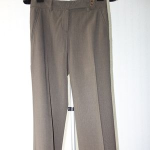 Brown Wool Theory Pants